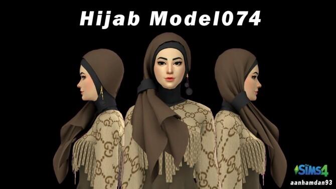 Hijab Model 074 Mischa Long dress