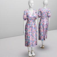 Marie Louise Midi Dress