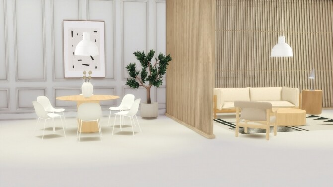 Sims 4 PALAIS TABLES COLLECTION at Meinkatz Creations