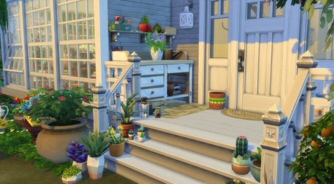 Sims 4 Sweetness of life home by Pyrenea at Sims Artists
