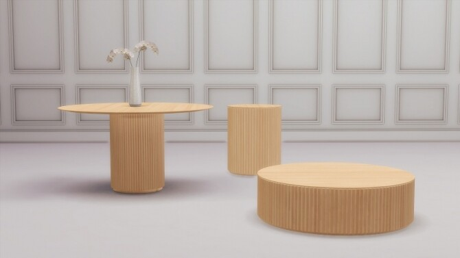 PALAIS TABLES COLLECTION at Meinkatz Creations image 309 670x377 Sims 4 Updates