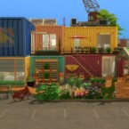 Colocation containers by Pyrenea