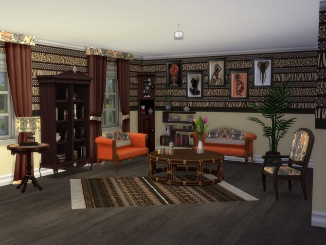Out Of Africa Base Set Recolour by seimar8 at TSR image 3106 670x503 Sims 4 Updates