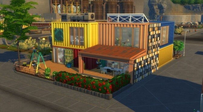 Sims 4 Colocation containers by Pyrenea at Sims Artists