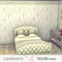 Wildflowers wallpaper by lavilikesims