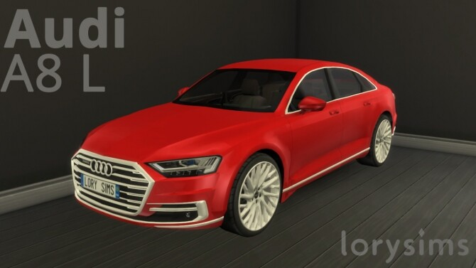 Audi A8 L at LorySims image 3131 670x377 Sims 4 Updates