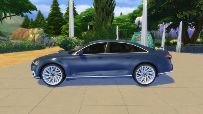 Audi A8 L at LorySims image 3141 670x377 Sims 4 Updates