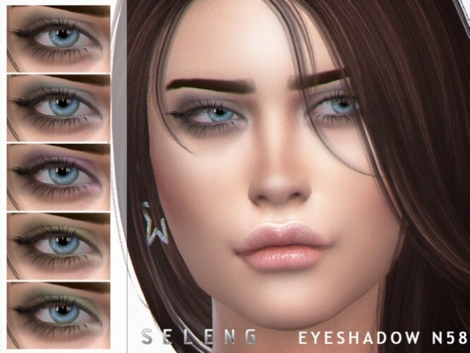 Eyeshadow N58 by Seleng