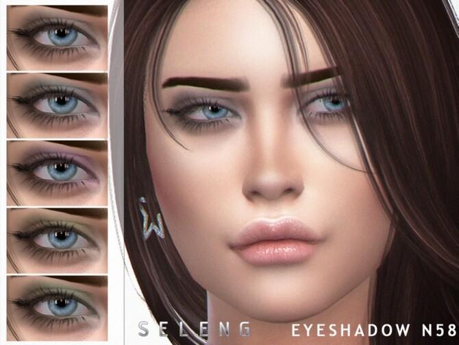Sims 4 Eyeshadow N58 by Seleng at TSR