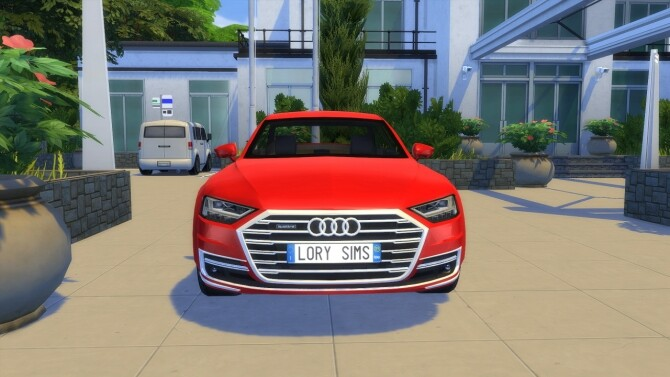 Audi A8 L at LorySims image 3151 670x377 Sims 4 Updates