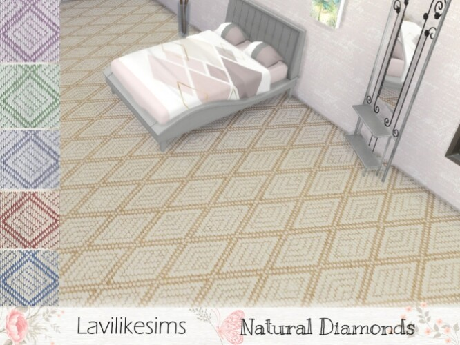 Natural Diamonds carpet by lavilikesims