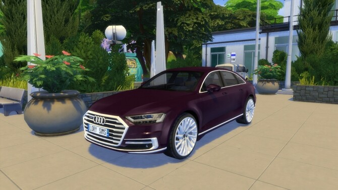 Audi A8 L at LorySims image 3161 670x377 Sims 4 Updates