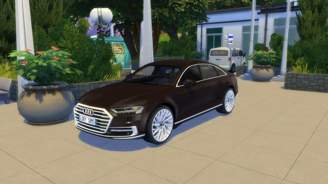 Audi A8 L at LorySims image 3171 670x377 Sims 4 Updates