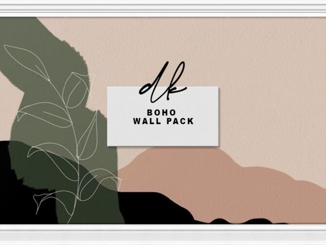 Sims 4 Boho Wall Pack at DK SIMS