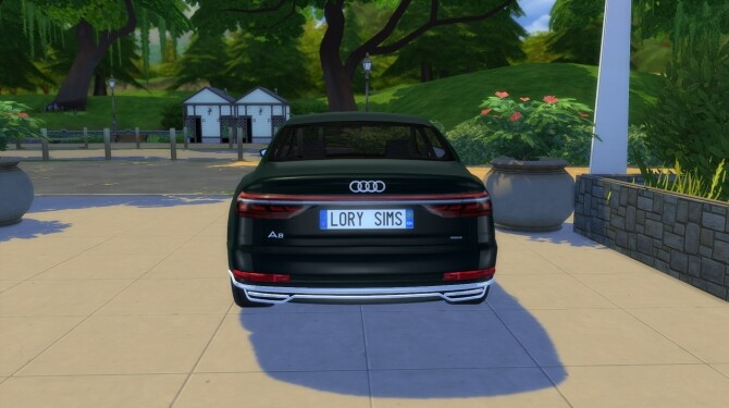 Audi A8 L at LorySims image 3181 670x375 Sims 4 Updates