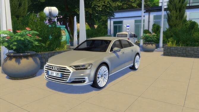 Audi A8 L at LorySims image 3191 670x377 Sims 4 Updates