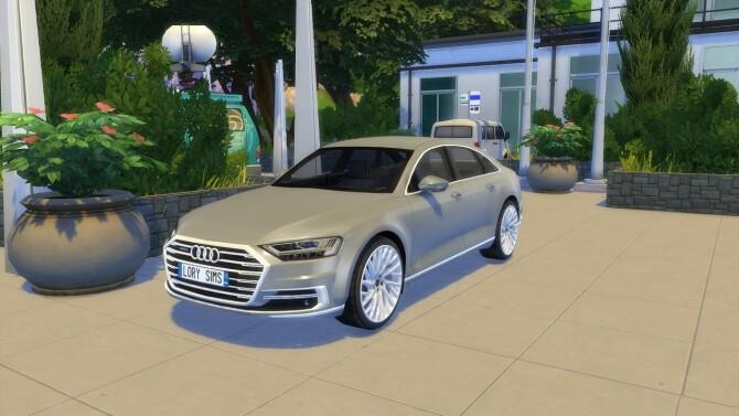 Sims 4 Audi A8 L at LorySims