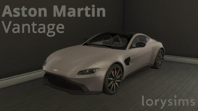Aston Martin Vantage at LorySims image 3203 670x377 Sims 4 Updates