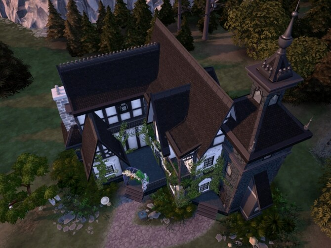 Sims 4 Garlic Estate by VirtualFairytales at TSR