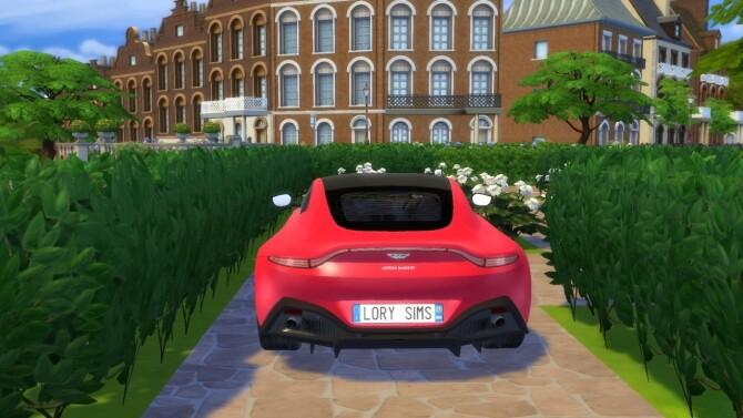 Aston Martin Vantage at LorySims image 3223 670x377 Sims 4 Updates