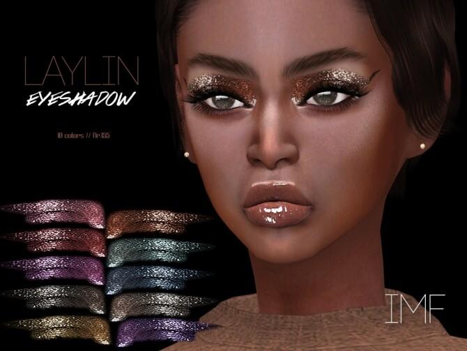 Sims 4 IMF Laylin Eyeshadow N.155 by IzzieMcFire at TSR