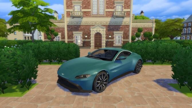 Aston Martin Vantage at LorySims image 3233 670x377 Sims 4 Updates