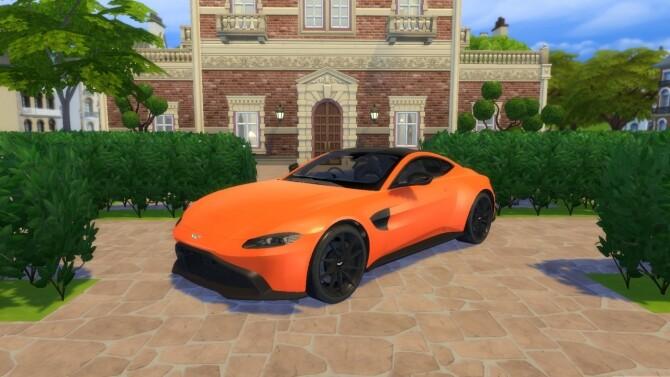 Aston Martin Vantage at LorySims image 3243 670x377 Sims 4 Updates