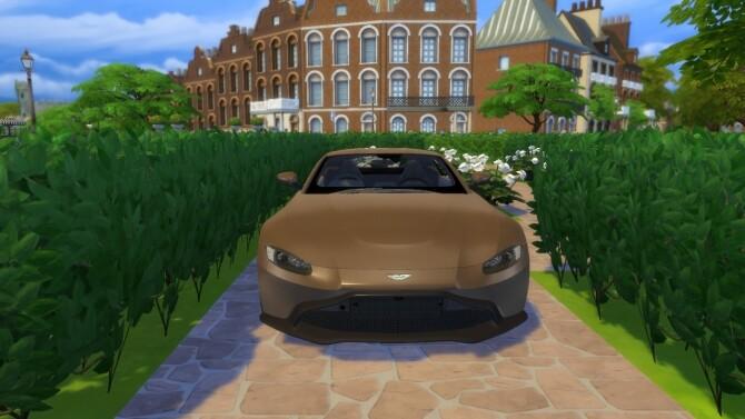 Aston Martin Vantage at LorySims image 3253 670x377 Sims 4 Updates