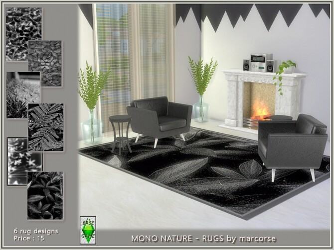 Mono Nature Rugs by marcorse at TSR image 329 670x503 Sims 4 Updates
