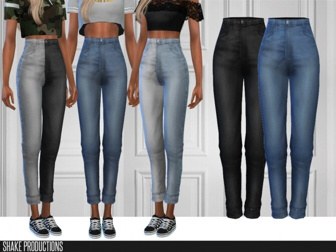 Sims 4 498 Jeans by ShakeProductions at TSR
