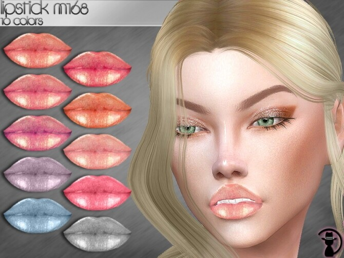 Lipstick M168 by turksimmer at TSR image 334 670x503 Sims 4 Updates