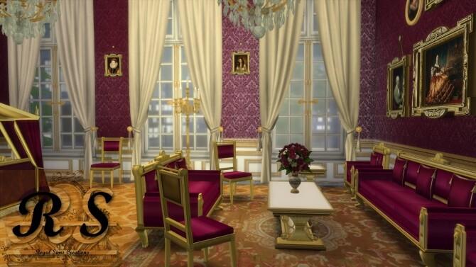 Sims 4 Buckingham Furniture Set at Regal Sims