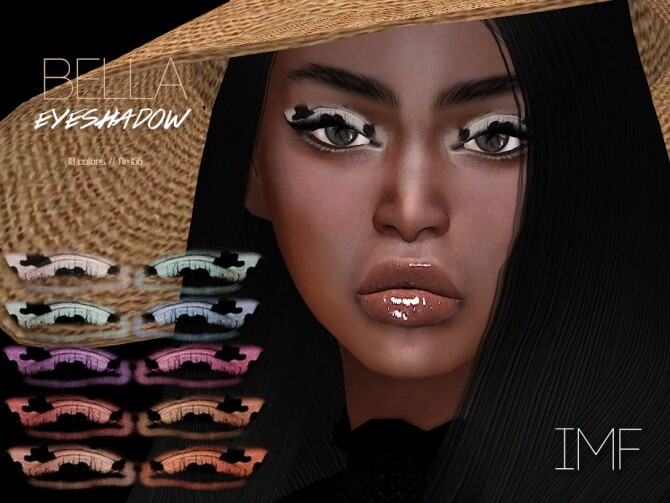 Sims 4 IMF Bella Eyeshadow N.156 by IzzieMcFire at TSR