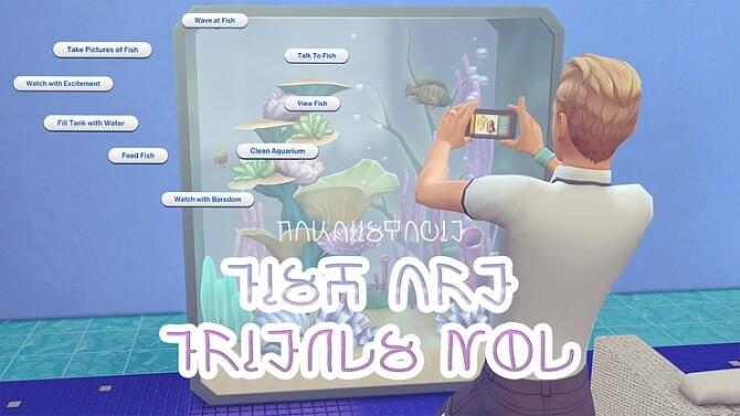 Sims 4 Fish Are Friends Mod at KAWAIISTACIE