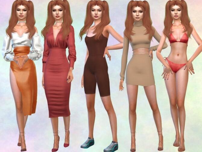 Sims 4 Nona Peng by divaka45 at TSR