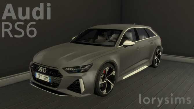 Audi RS6 by LorySims