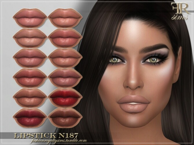 FRS Lipstick N187 by FashionRoyaltySims at TSR image 354 670x503 Sims 4 Updates