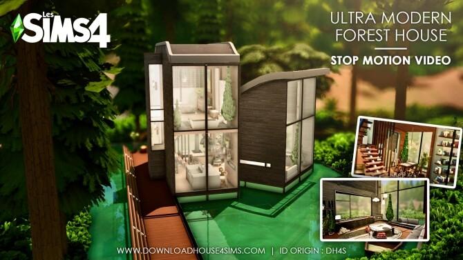 Ultra Modern Forest House