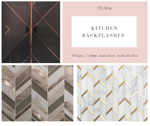 Sims 4 Kitchen Collection I: Backplashes & Rug at Dinha Gamer