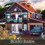 Boho Barn by Rirann