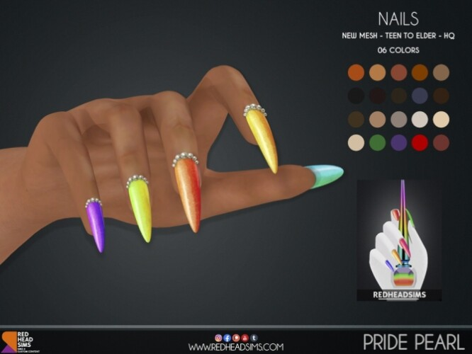 PRIDE PEARL NAILS