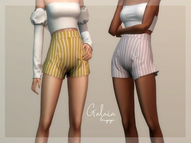 Galaia Shorts by laupipi at TSR image 364 670x503 Sims 4 Updates