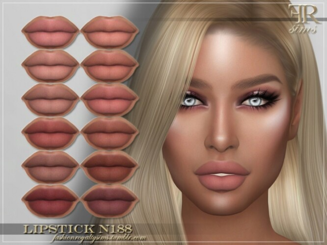 FRS Lipstick N188 by FashionRoyaltySims