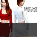 Pure color halter top VN by carvin captoor