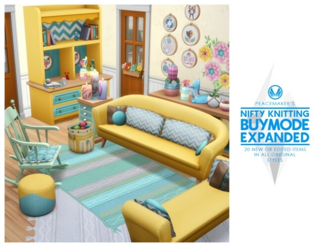 Nifty Knitting Buymode Expanded 20 new or edited Items