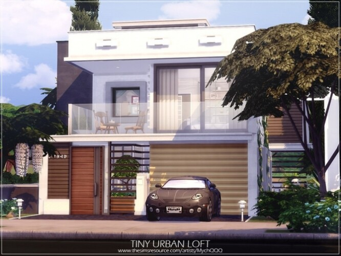 Tiny Urban Loft by MychQQQ