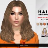 Trish Hair Retexture by remaron
