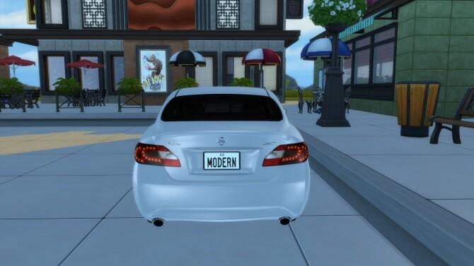 2011 Nissan Fuga at Modern Crafter CC image 3761 670x377 Sims 4 Updates