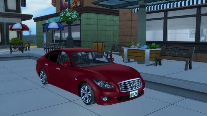 2011 Nissan Fuga at Modern Crafter CC image 3771 670x377 Sims 4 Updates