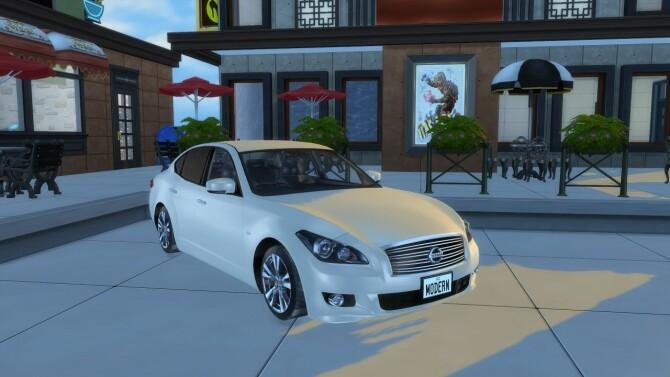 2011 Nissan Fuga at Modern Crafter CC image 3781 670x377 Sims 4 Updates